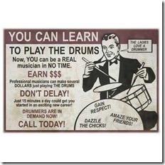 pourquoi apprendre à jouer de la batterie