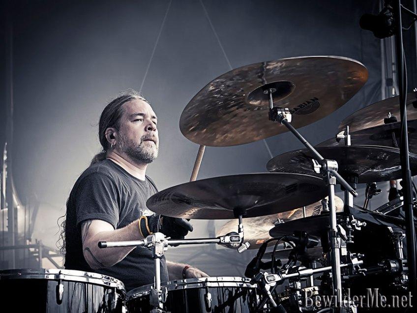 Tomas Haake, batteur de Meshuggah