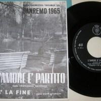 L'amore è partito/E' la fine, 1965