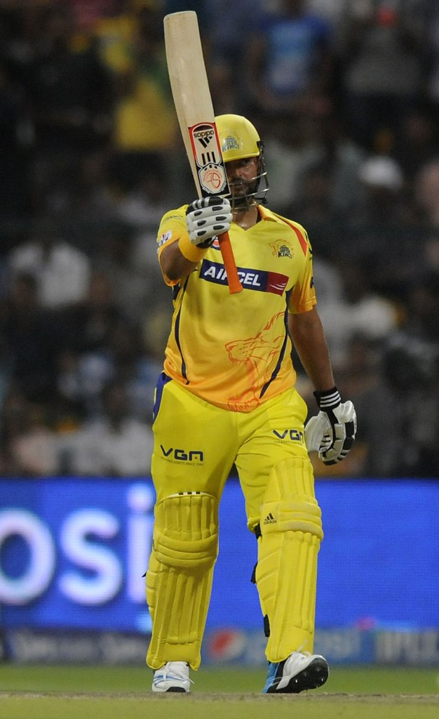 Raina was named Man of the Match for his spectacular half-century