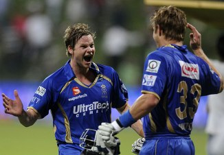 Smith and Watson are ecstatic after Rajasthan won the match via a boundary count