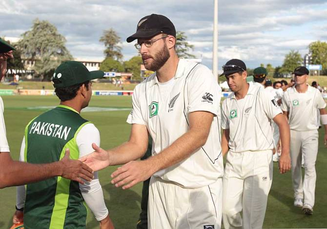 Pakistan and New Zealand last faced each other in 2010-11