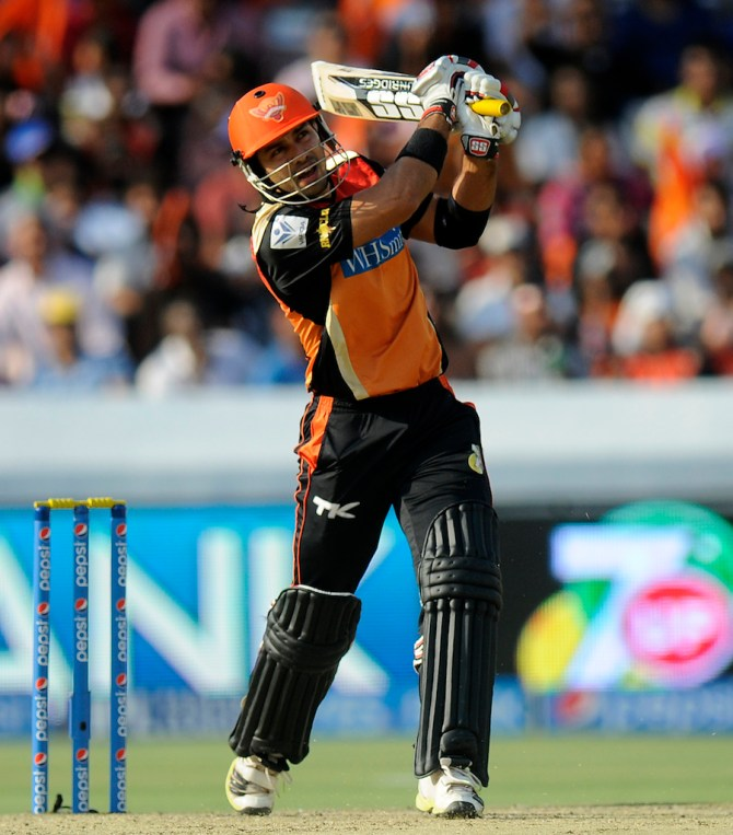 Ojha walloped seven sixes during his valiant knock of 79