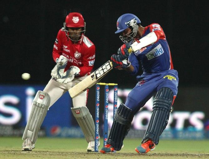 Karthik scored a valiant 69