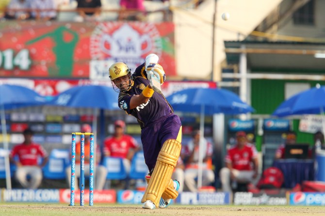 Uthappa produced yet another solid performance with the bat