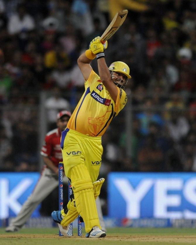 Raina gave Punjab a run for their money with his blistering knock of 87