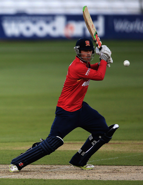 Foakes hammered four boundaries and two sixes during his knock of 51