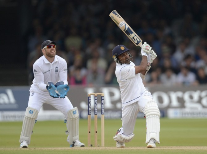 Jayawardene struck seven boundaries during his knock of 55