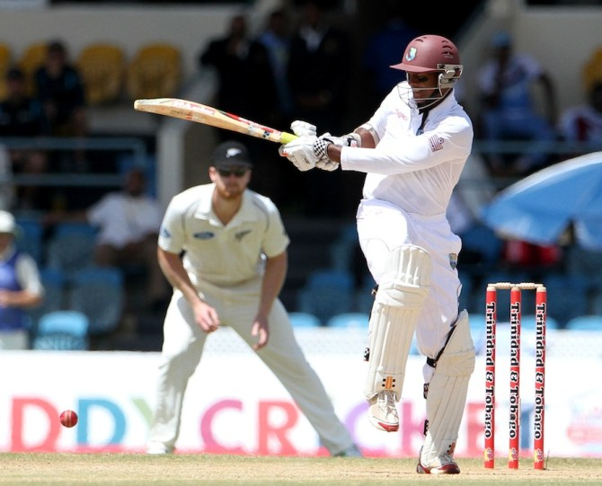 Chanderpaul scored 47 valuable runs
