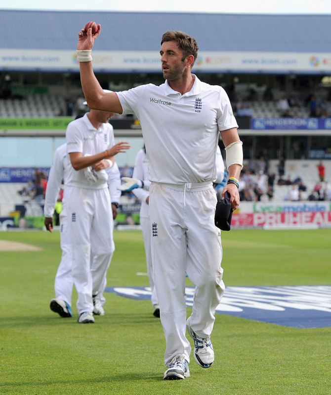 Plunkett recorded the first five-wicket haul of his Test career