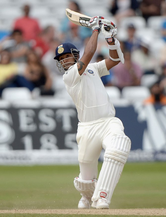 Binny struck eight boundaries and a six during his career-best knock of 78