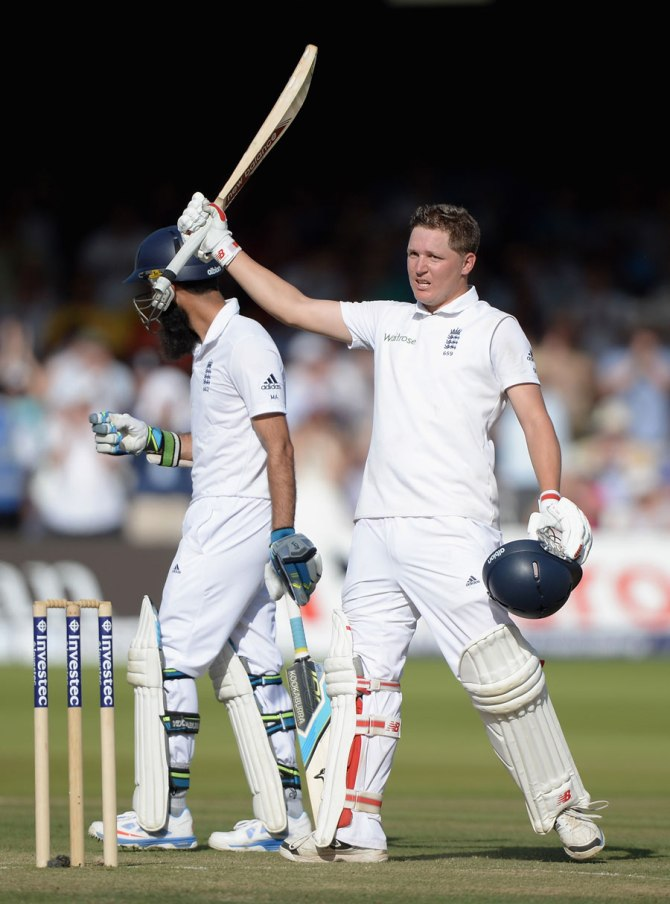 Ballance stemmed the bleeding with his vital century