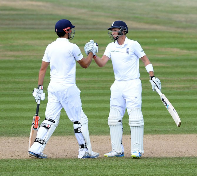 Cook and Root both made half-centuries