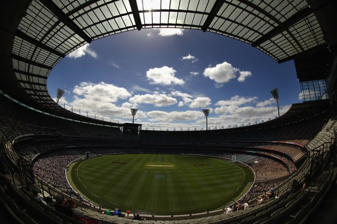 The MCG was chosen to host the final of the 2015 World Cup