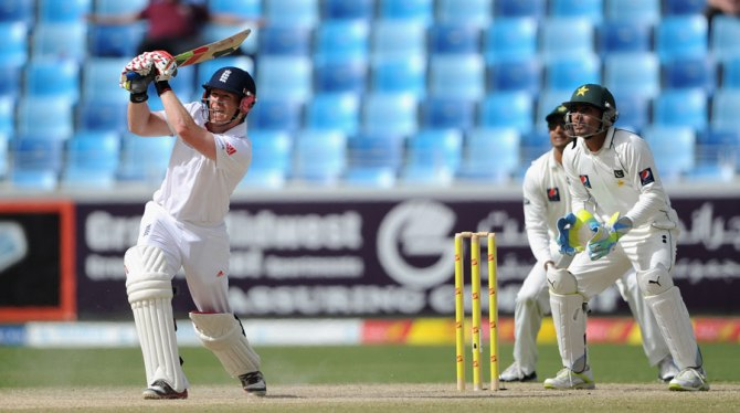 Morgan hasn't given up on his hopes of playing Test cricket once again