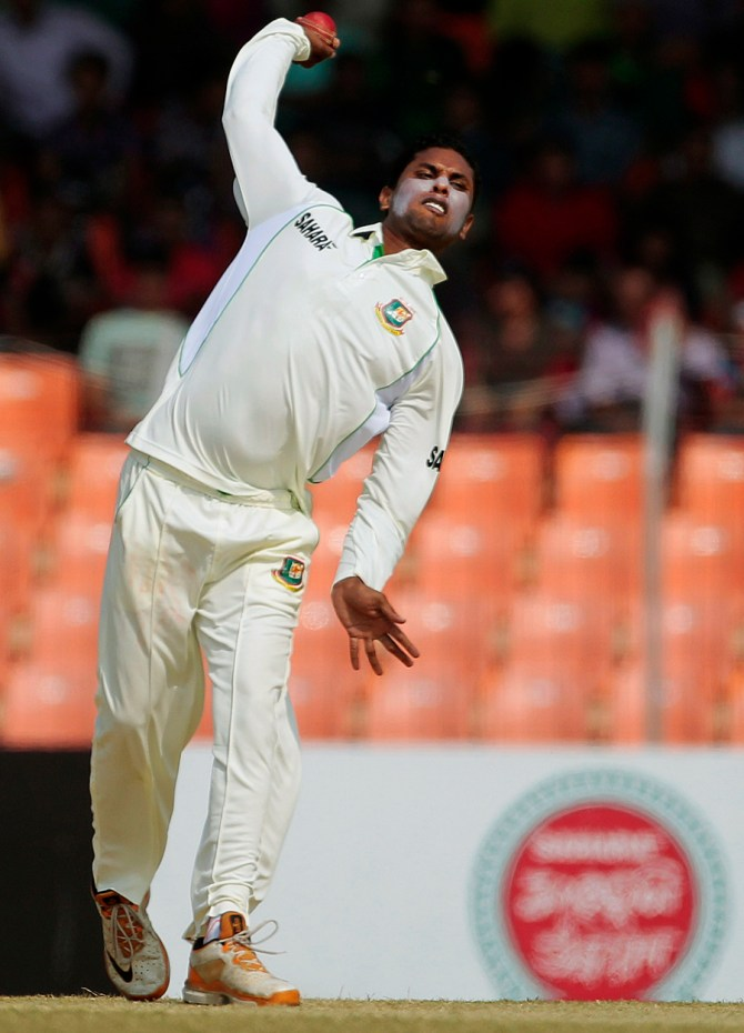 Gazi is the fifth off-spinner to be reported for having a suspicious action in the last couple of months