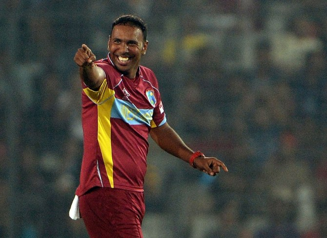 Badree recorded figures of 4-15 against Bangladesh in this year's World Twenty20