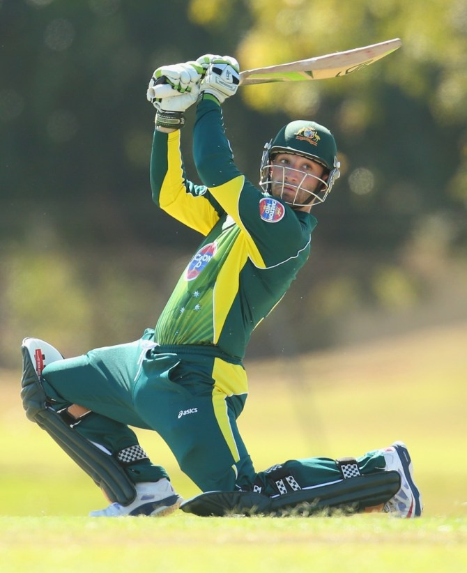 Hughes will watch Australia's first match of the tri-series from the sidelines