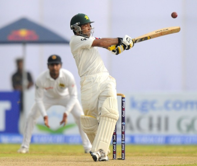 Shafiq struck six boundaries and a six during his unbeaten knock of 55