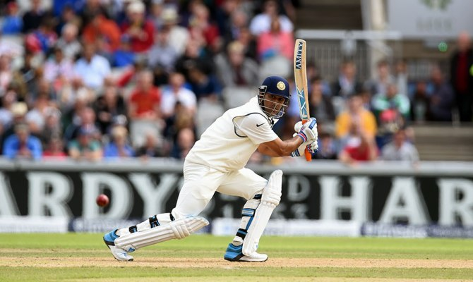 Dhoni smashed 15 boundaries during his valiant knock of 71