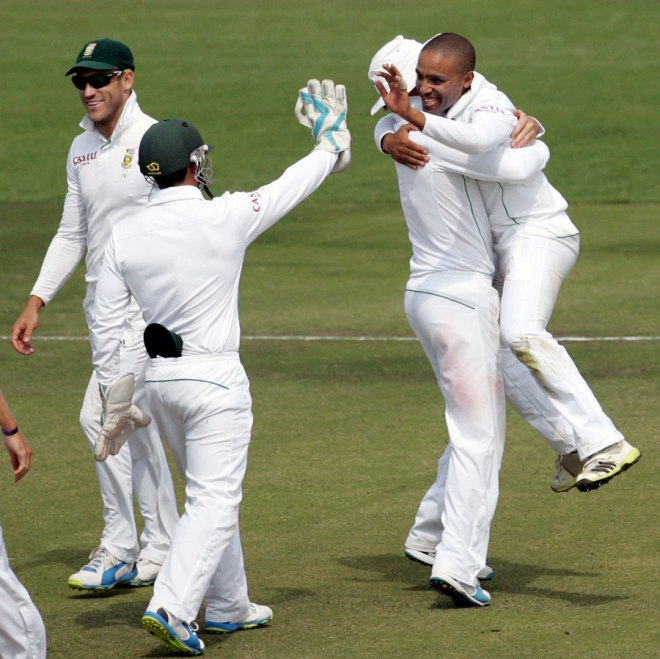 Piedt ripped through Zimbabwe in both innings