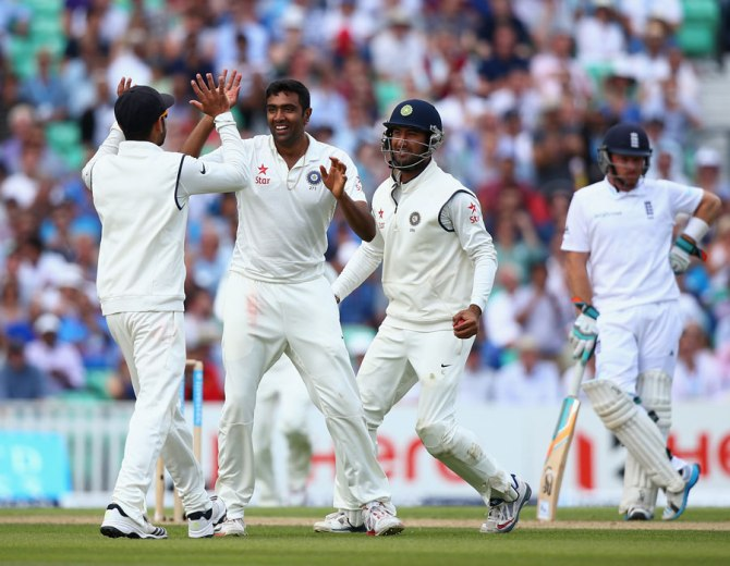 Ashwin is the fastest bowler to take 100 Test wickets since 1931