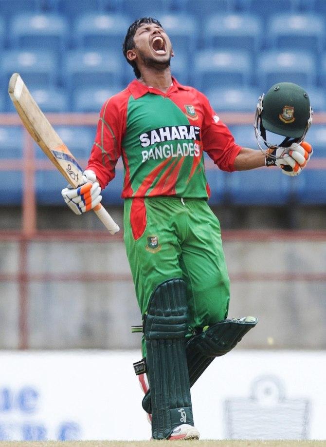 Haque scored a gutsy century