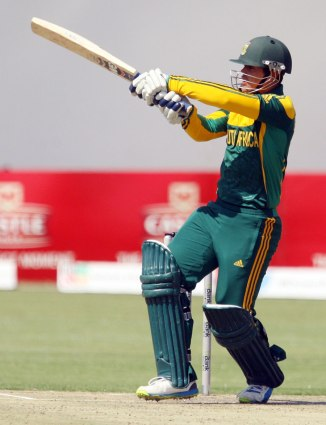 De Kock hit seven boundaries and a six during his knock of 76