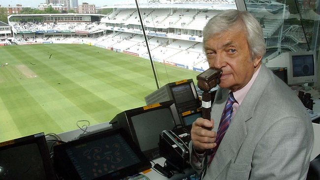 Benaud is one of the most respected and beloved commentators in the game