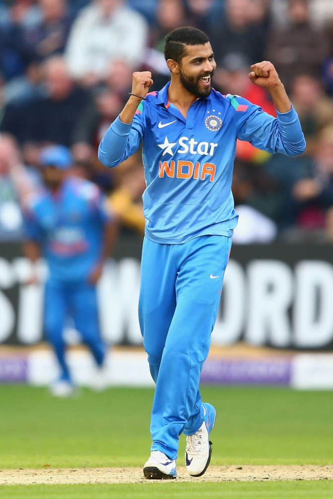 Jadeja finished with figures of 4-28 off his seven overs