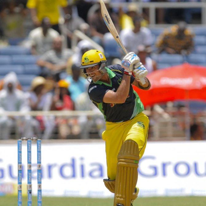 Shah struck three boundaries and two sixes during his innings of 42