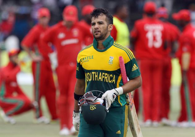 Duminy has played a major role with both the bat and ball throughout the tri-series