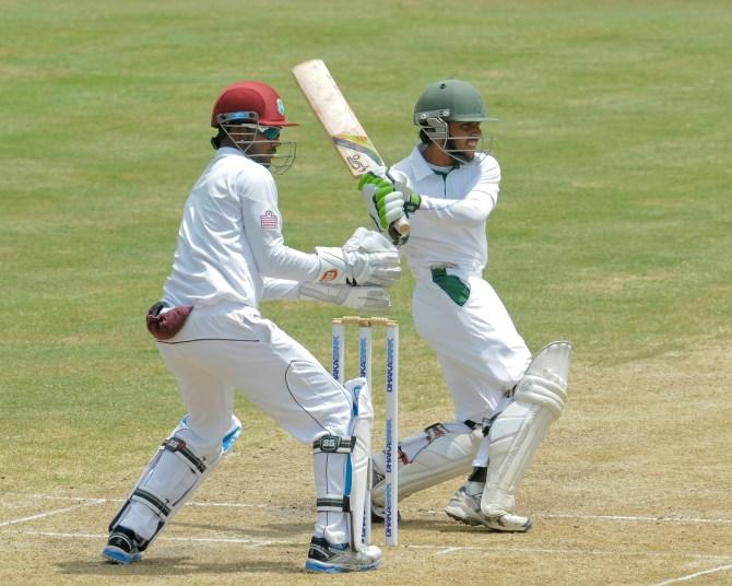 Haque scored a gutsy 53