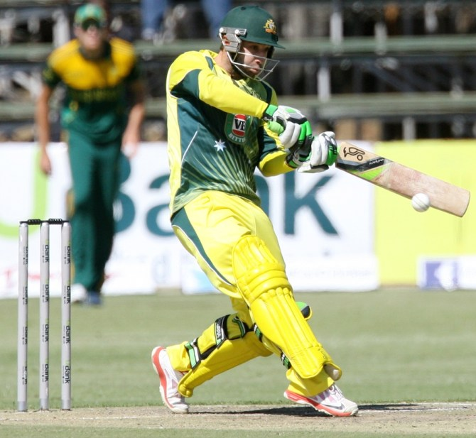 Hughes struck seven boundaries and a six during his excellent knock of 85