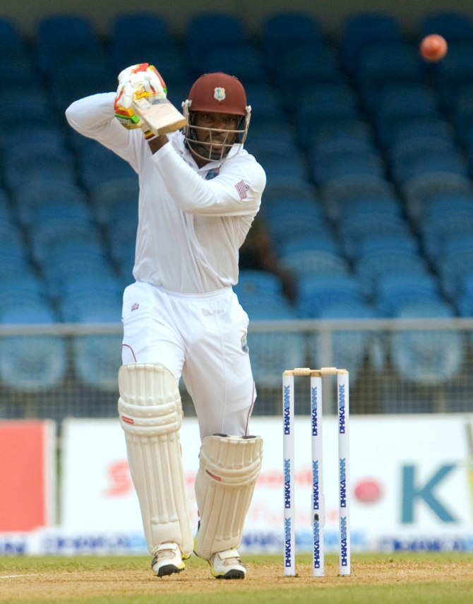Gayle will miss the second Test against Bangladesh