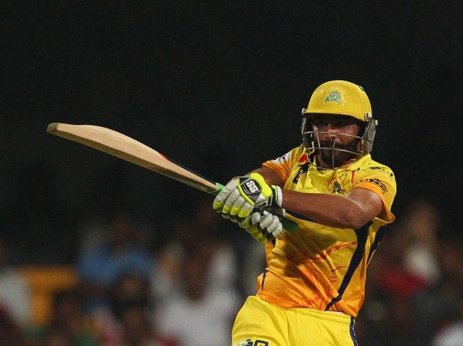 Jadeja only took 14 balls to score 40 runs