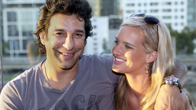 Akram and Shaniera got married on August 12 last year