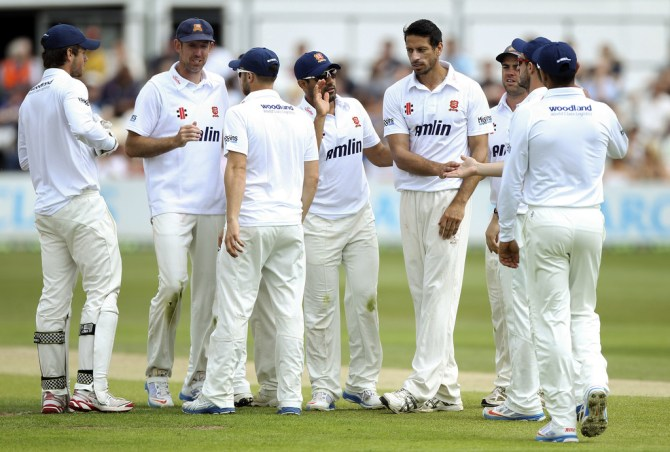 Mahmood only took three wickets in two County Championship matches this season