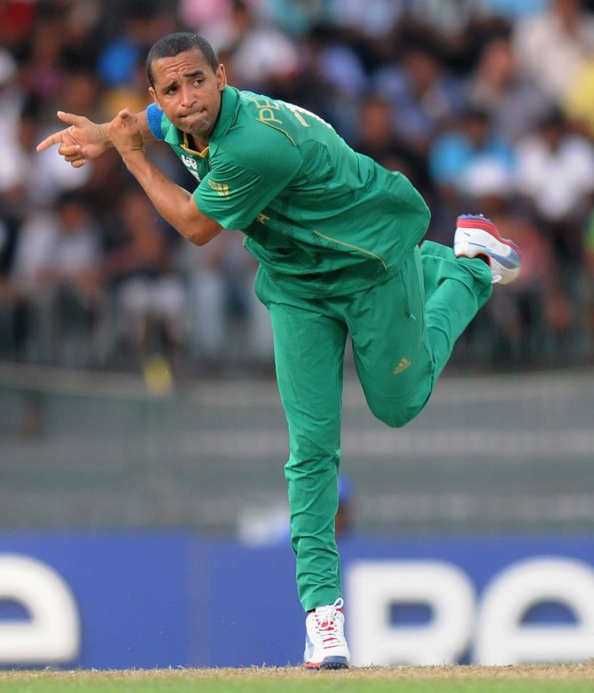 Peterson's last ODI for South Africa came against Pakistan in November 2013