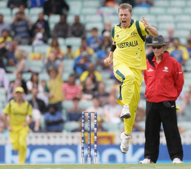 Doherty's last ODI for Australia came against England in January 2014