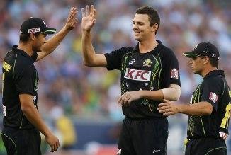 Hazlewood's last ODI for Australia came against England in September 2013