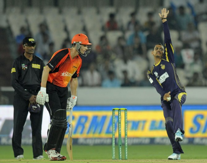 Narine will not represent Kolkata in the CLT20 final