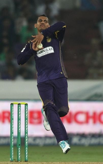 Narine has been placed on the CLT20's 'warning list'