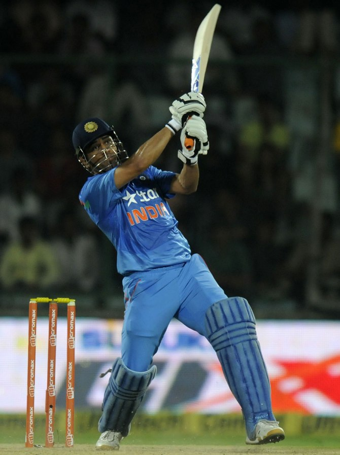 Dhoni has opted to take a break ahead of India's tour of Australia