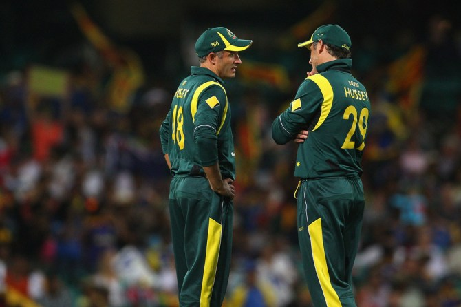 Hussey played a crucial role in helping his sons, Michael and David, represent Australia
