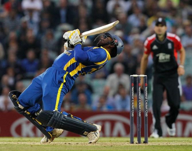 Kandamby's last ODI for Sri Lanka came against Scotland in July 2011