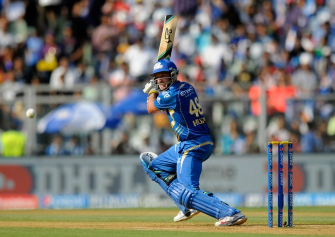 Mumbai no longer requires Hussey's services