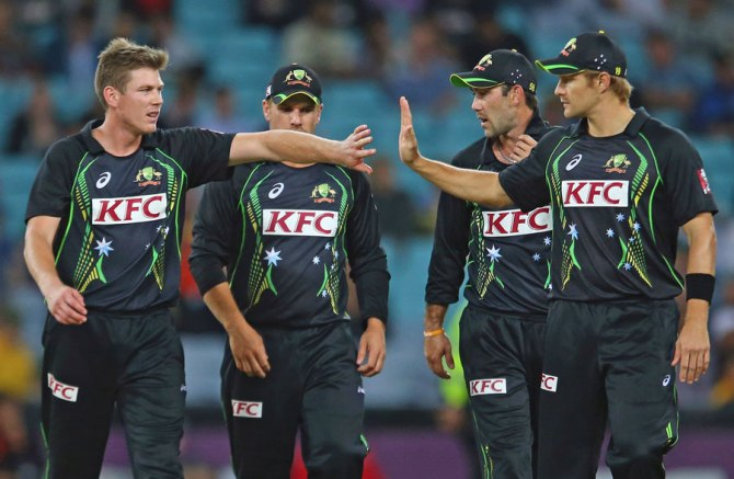 Faulkner finished with figures of 3-28 off four overs