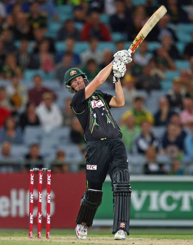 White hammered four boundaries and a six during his game-winning knock of 41
