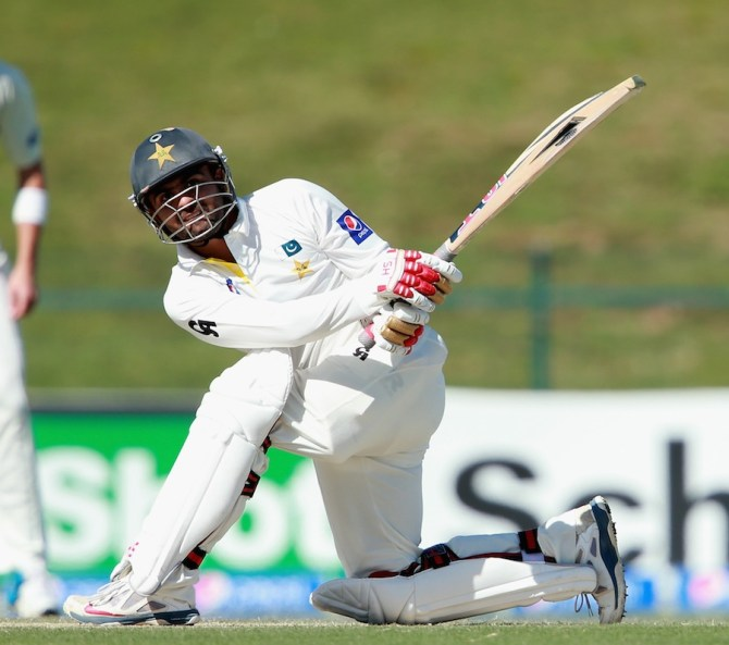 Shehzad hit 17 boundaries and a six during his career-best knock of 176